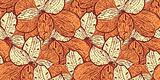 seamless vintage pattern with alstremerias (peruan lilies)