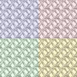 seamless chequered texture in different colors
