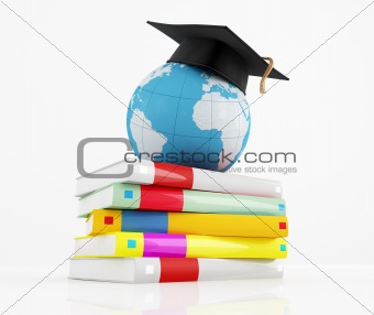 international graduation concept