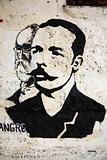 Painting of Jose Marti Cuba