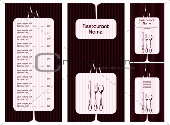Image 3652020: Menu Card Template from Crestock Stock Photos