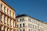 Old historical buildings in Leipzig