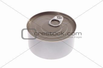gray tin can