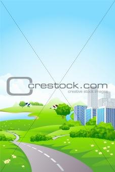 Green City Landscape