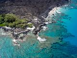 Aerial View Of Hawaii Coastline