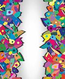 colorful splinters