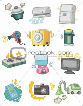 cartoon Appliance icon