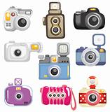 cartoon camera icon