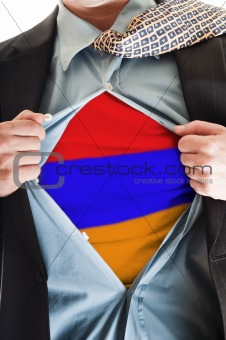 Armenia flag on shirt