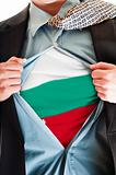 Bulgaria flag on shirt