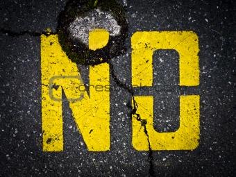 """""""No"""" sign"""