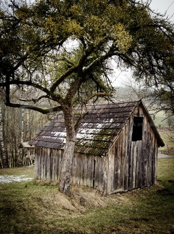 Small wooden Barn