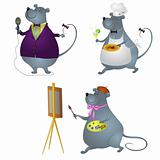 Rat professionals, set