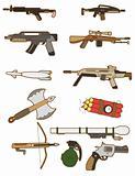 cartoon weapon icon