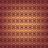 Seamless ornamental wallpaper pattern, vector illustration