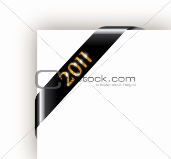 2011 New Year Ribbon