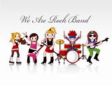 rock band card