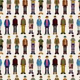 seamless young boy pattern