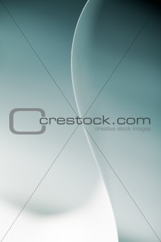 abstract image of soft paper shapes