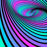 Whirl spiral movement. Abstract color background.