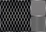 Vector Metal Grill Seamless