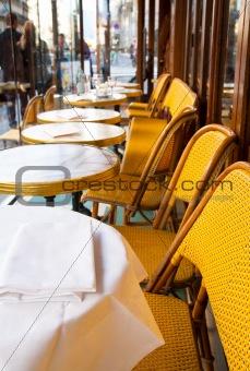 Cafe terrace