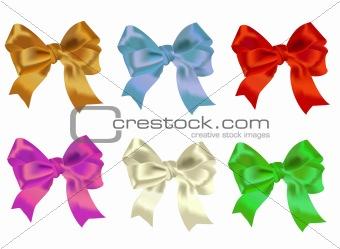 Celebratory bows