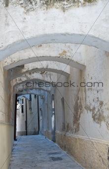 Alleyway. Monopoli. Apulia.