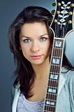 Portrait Guitar Girl