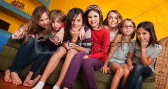 Group of Young Girls