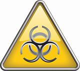 Biohazard icon symbol, icon