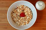 Granola with Raspberry