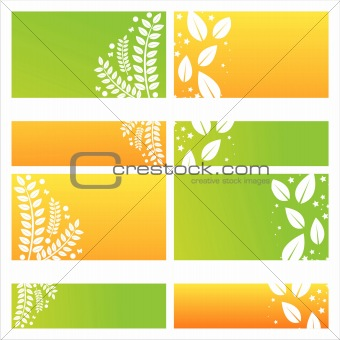 modern leaves backgrounds