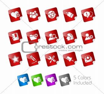 Blog & Internet // Stickers Series
