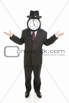 Faceless Businessman - Undecided
