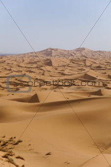 Desert landscape, merzouga, marocco