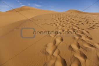 Desert dunes in Morocco