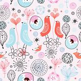 pattern love birds