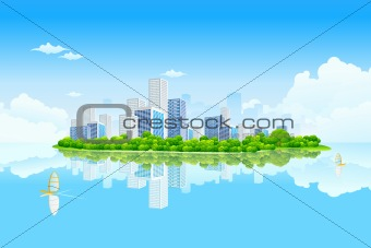 Business City Landscape