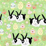 texture Easter bunnies