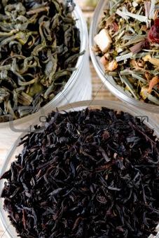 three kinds of tea