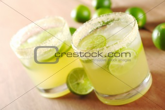 Fresh Lemonade and Limes