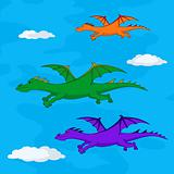 Dragons in the sky