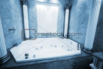beautiful big bath