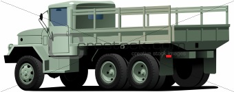 drop-side truck