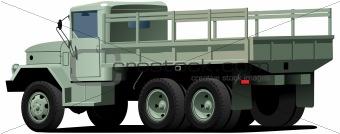 drop-side truck