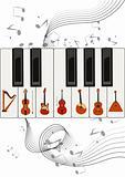 Strings on keys