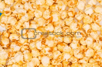 Close up of background  - sweet popcorn kernels