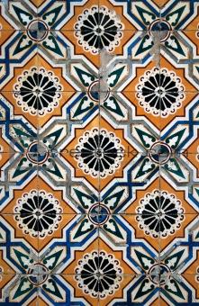 Portuguese glazed tiles.