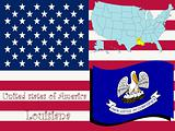 louisiana state illustration